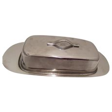 Stainless Steel Butter Dish Made in Japan