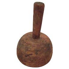 Vintage Wooden Mallet or Hammer Tool