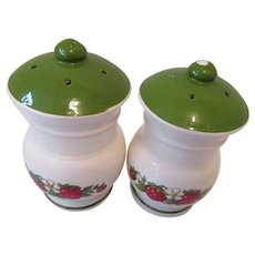 Strawberry Salt and Pepper Shakers Japan
