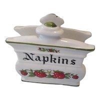 Strawberry Napkin Holder Japan