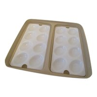 Tupperware Vintage Egg Carrier with Trays