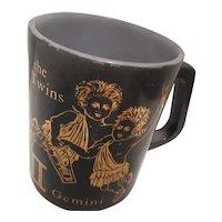Gemini Heat Proof Federal Glass Mug