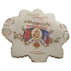 King Edward VIII Coronation Souvenir Dish 1937 U.K.