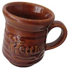 Pair of Kettle Restaurant Coffee Mugs