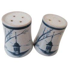 Noritake Japan Clock Tower Shakers