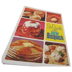 """""""So Quick with New Bisquick"""" 1967 General Mills"""