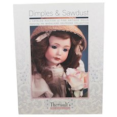Book Dimples and Sawdust Fine Antique Doll Auction