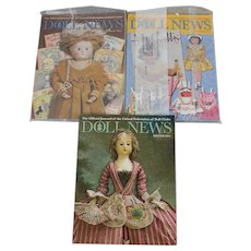 UFDC Doll News Magazine 2015 Spring Summer Winter Issues  Free Shipping (CUSA Only)