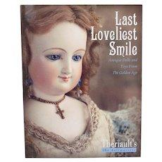 Book Last Loveliest Smile Antique DollsTheriaults