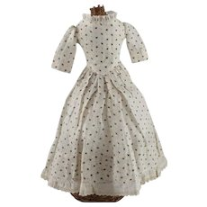 Vintage Doll Dress with Antique Undergarments All Antique Fabrics and Trims