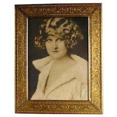 Gilt Silverplate Picture Frame c1930 Vintage Bernard Rice's Sons Apollo BeauXardt
