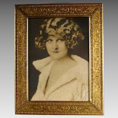 Gilt Silverplate Picture Frame c1930 Vintage Bernard Rice's Sons Apollo BeauXardt