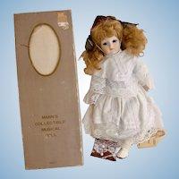 Vintage 1982 Seymour Mann Musical Doll - Bernadette