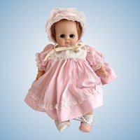 Vintage 1965 Alexander Sleep Eye Baby Doll