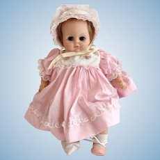Vintage 1965 Alexander Sleep Eye Baby Doll
