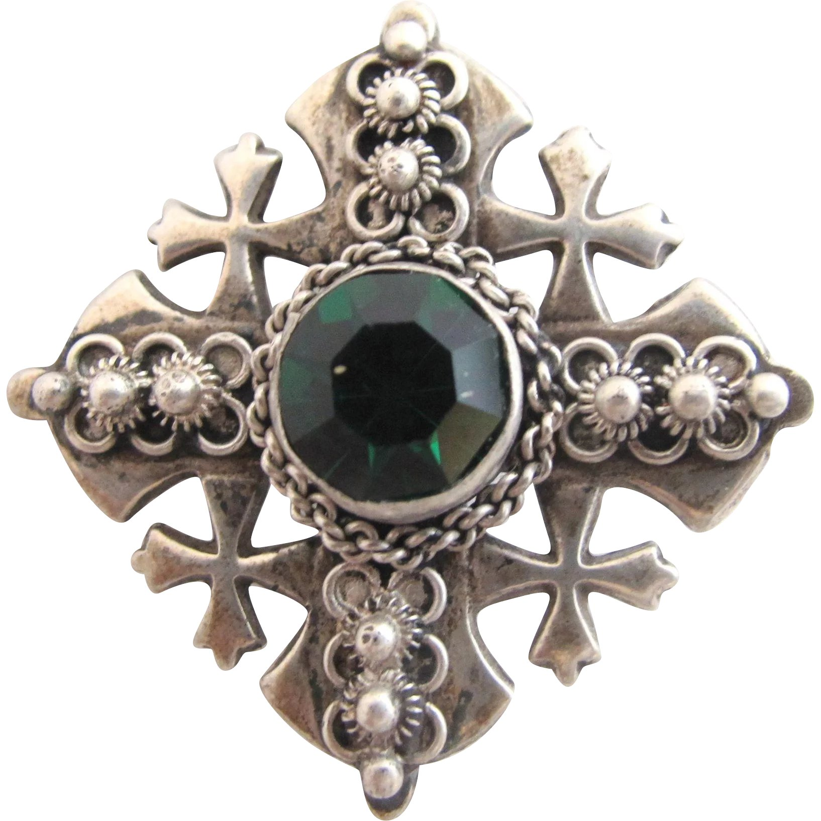 jerusalem cross pendant creations