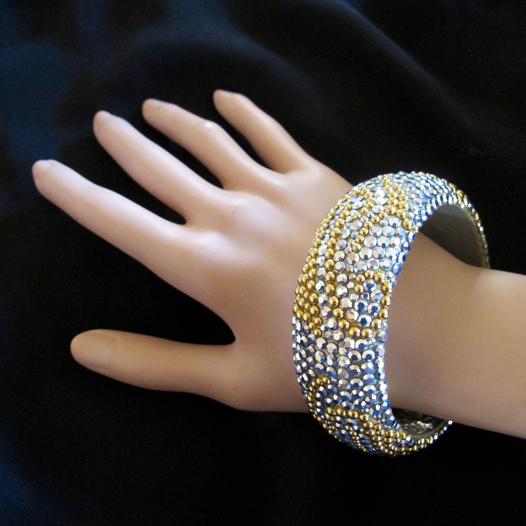 singapore bracelet ankle gold inches yellow and wide in