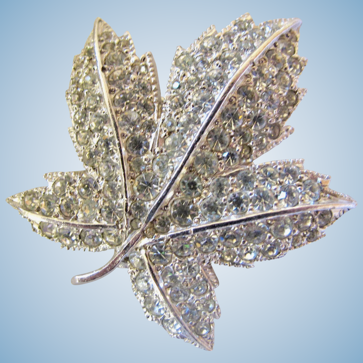 791344771 Vintage Keyes Canadian Maple Leaf Pin - Larger Size : 2Hearts Jewelry &  Accessories | Ruby Lane
