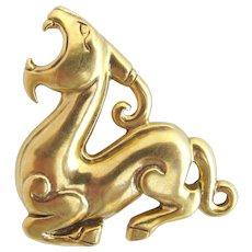 MMA Metropolitan Museum Mythical Creature Pin / Pendant
