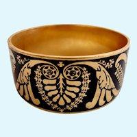 Vintage MMA (Metropolitan Museum of Art) 1989 Middle Eastern Wide Bangle Bracelet