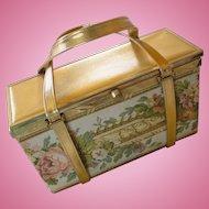 Tyrolean NY Tapestry Box Purse