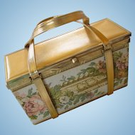 Tyrolean NY Tapestry Box Purse