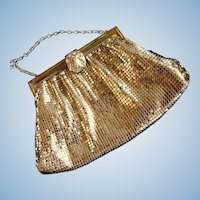 Whiting and Davis Gold Mesh Purse