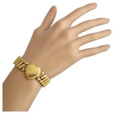 Vintage 1/20 10K GF Sweetheart Expansion Bracelet