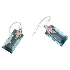 Errings Sterling Silver Swiss Blue Topaz
