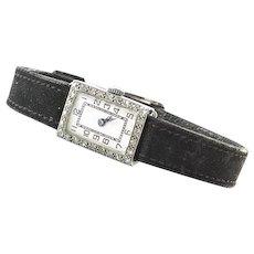 Art Deco Ladies Platinum and Diamond Wrist Watch