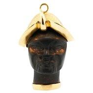 Exceptional Vintage Blackamoor Charm