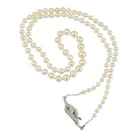Edwardian Natural Pearl Necklace