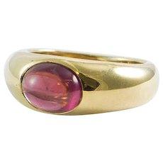 Tiffany & Co. Yellow Gold Tourmaline Cabochon Ring