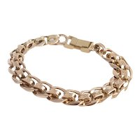 Vintage 14kt Rose Gold Bracelet. 45.2 grams