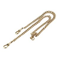 9 kt English Rose Gold Watch Chain