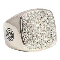 David Yurman 1.62 ct. Pave Diamond Ring
