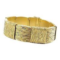 Vintage Weissgold 18K Gold Bracelet