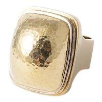 Karl Stittgen Gold Ring