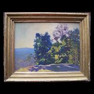 "Charles Richert 1880 - 1974 ""Summer Wind"" Oil Painting"