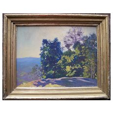 "Charles Richert 1880 - 1974 ""Summer Wind"" Oil Painting"