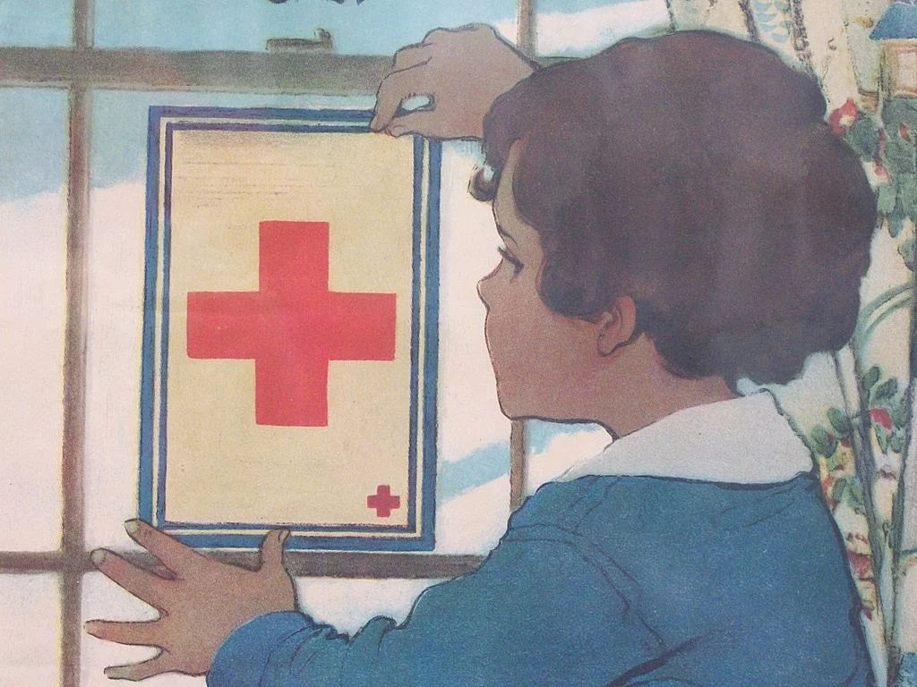 Jessie Wilcox Smith 1863 1935 Original Red Cross Service