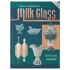 Collector's Encyclopedia of MILK GLASS 1995 Newbound  HC w/ Dust Jacket