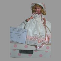 Nancy Ann Storybook Doll #186 the child That Was born on the Sabbath Day MIB