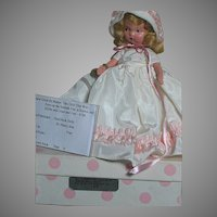 Nancy Ann Storybook Doll #186 the child That Was born on the Sabbath Day MIB