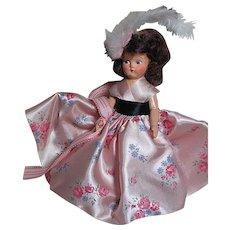 Vintage Hard Plastic Hollywood Doll in origianl Box