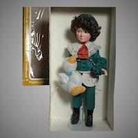 Effanbee Jan Hagara Vinyl doll   MIB   Larry