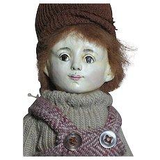 """Niada Artist Original Doll by Ruth De Nicola  Boy with label An early 1979 doll  11"""" - Red Tag Sale Item"""