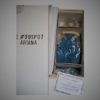 UFDC Ariana Souvenir Doll Washington DC Convention 1999  by Robert Tonner Doll Co