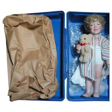 UFDC 1989 Convention Doll in St Louis Mo. John  in Blue Box
