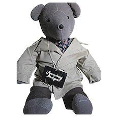 "Humphrey Beargart Teddy  Bear  North American Bear co  Large bear 21"""